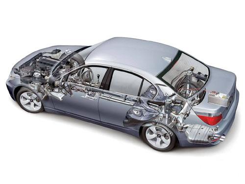 奥迪A6的前置前驱-驱动方式高清图片