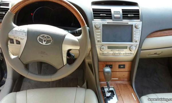 【常州】2009年8月 丰田 凯美瑞 240v navi 至尊导航版 12.68万