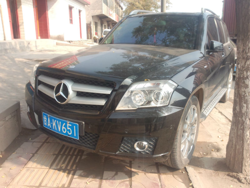 【兰州二手车】2012年9月_二手奔驰 GLK级 G
