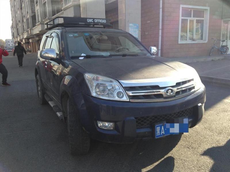 【哈尔滨】2008年9月哈弗h307款4wd柴油2.8手动蓝色挡比亚迪s6摆臂总乘多少钱图片