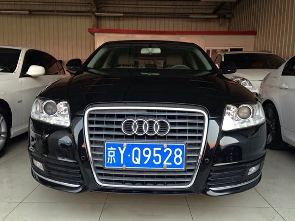 【北京】2010年6月 奥迪 奥迪a6l a6l 2.4 舒适型 黑色 自动档