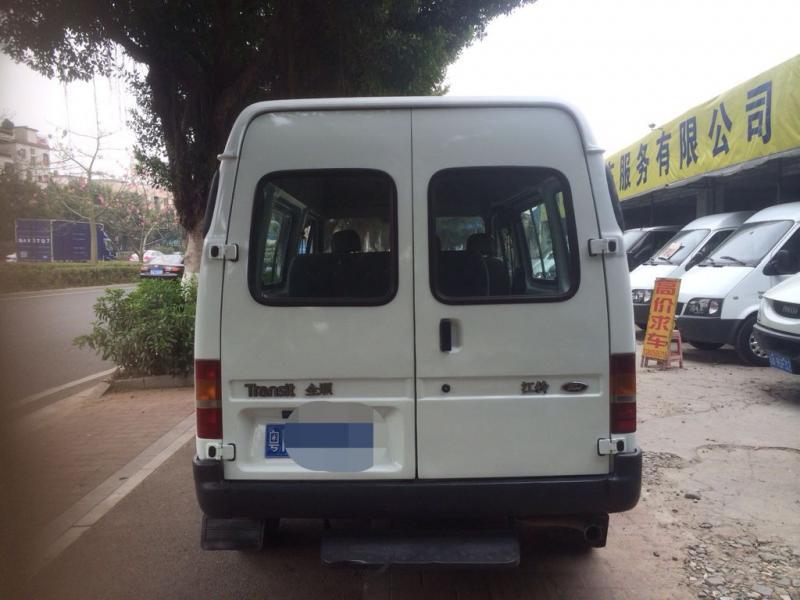 【广州】2009年12月 小型六座全顺柴油车 白色 自动档