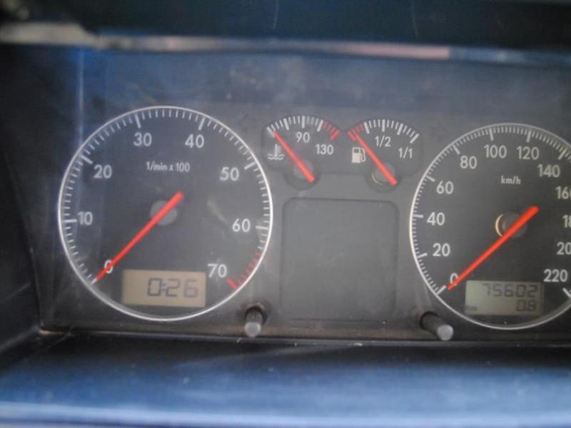 桑塔纳汽车灯光标志图解