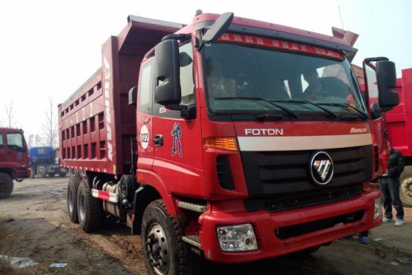 2012年9月 二手山东二手ETX欧曼后八轮自卸车 价格19万元