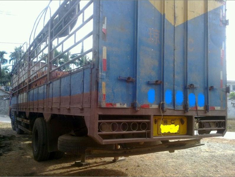 后4大货车图片_海南海口