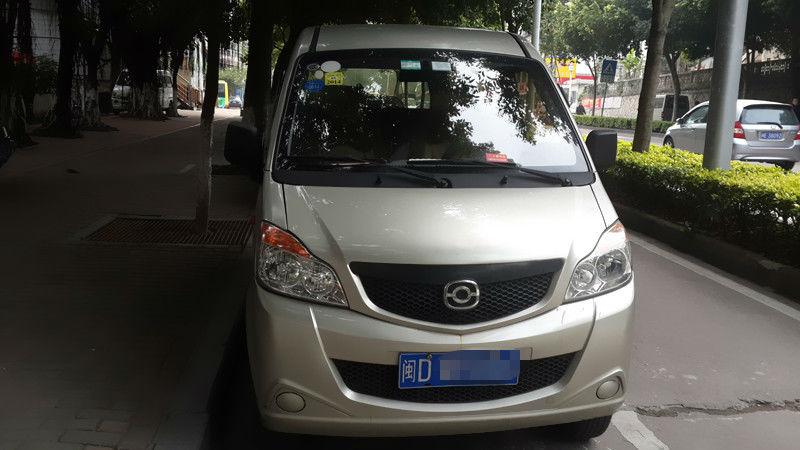 2012年3月海马商务汽车奥路卡面包车高清图片