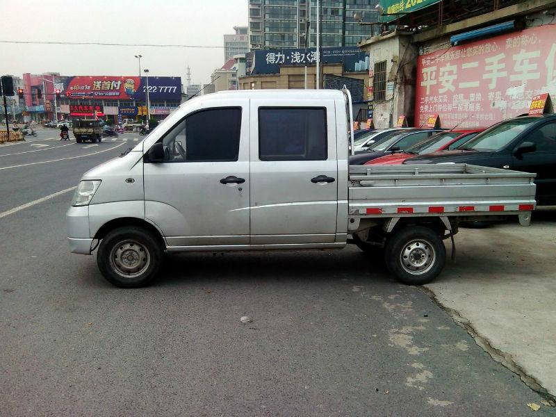 昌河福瑞达双排座小货车高清图片