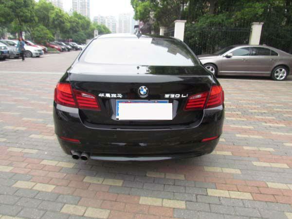 【宁波】2012年6月 宝马 宝马5系 530li豪华型 黑色 手自一体