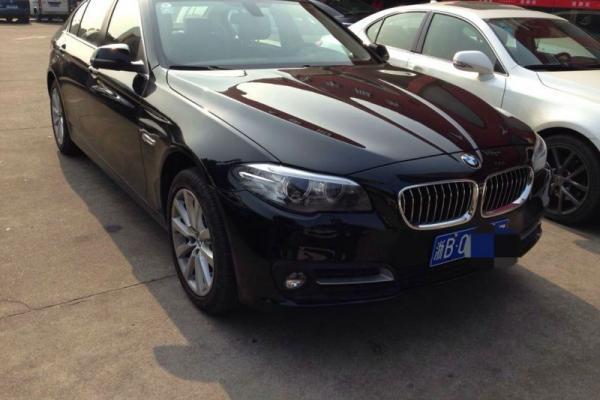 2014年12月 宝马528li 黑色-宁波市长久二手车销售