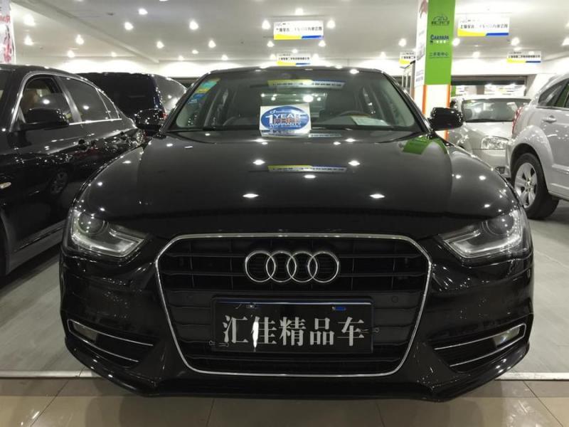 【中国】2012年8月 奥迪 奥迪a4l 35 tfsi 自动舒适型 黑色 自动档