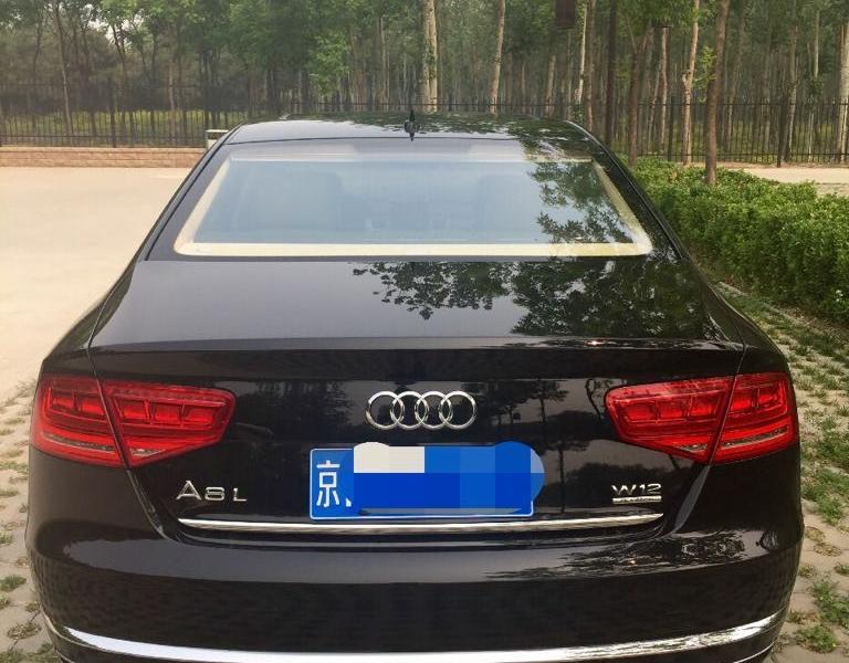 【北京】2013年5月 奥迪 奥迪a8 a8l w12 6.图片
