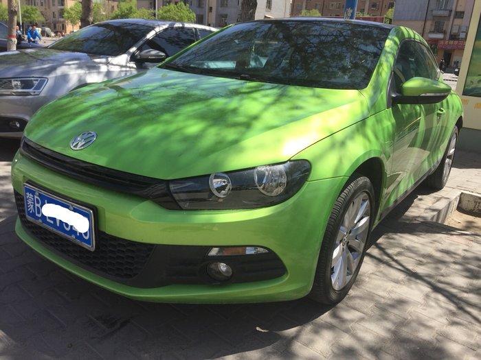 【包头】2012年8月 大众 尚酷 2011款 尚酷 1.4tsi 舒适版 绿色