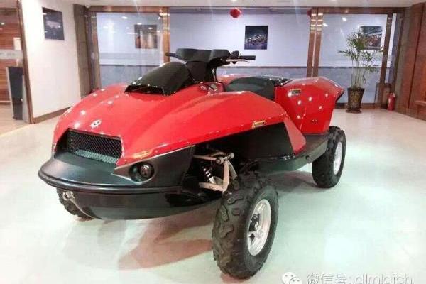 二手吉布斯 水陆两用摩托 价格38.8万元高清图片