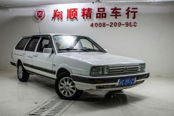 【上海】2007年6月 大众 桑塔纳 旅行车 1.8 gli 白色 自动档