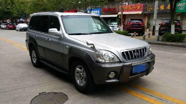 【厦门】2004年7月现代特拉卡3.5银灰自动档北京现代ix35配件车身图片