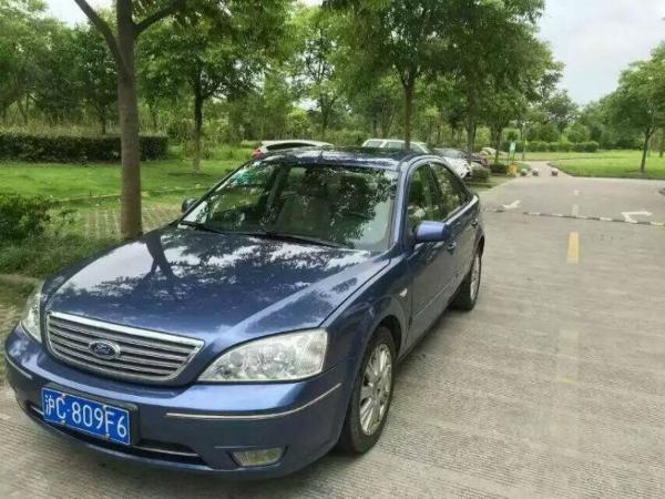 【上海】2007年9月 福特 蒙迪欧 致胜 2.0 舒适型 蓝色 手自一体图片