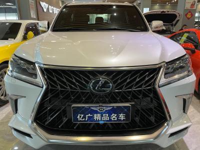 雷克薩斯 LX  2019款 570 巔峰特別版