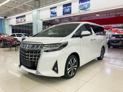 2019年6月 丰田 埃尔法  改款 3.5L 尊贵版图片