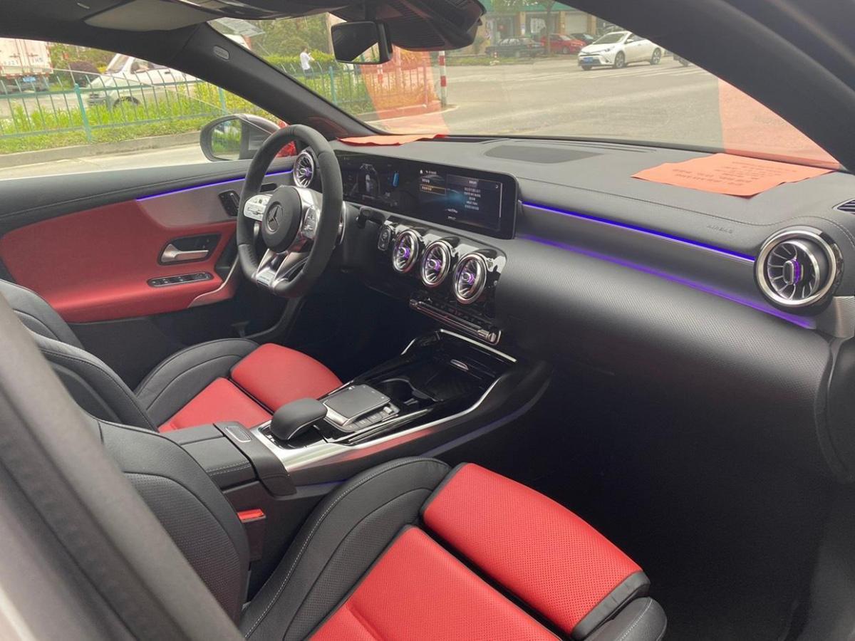 奔驰 奔驰A级AMG  2020款 AMG A 45 4MATIC+图片