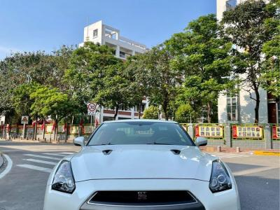 2014年4月 日产 GT-R(进口) 3.8T Premium Edition 棕红内饰图片