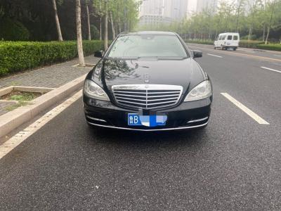 奔驰 奔驰S级  2012款 S 300 L 商务简配型