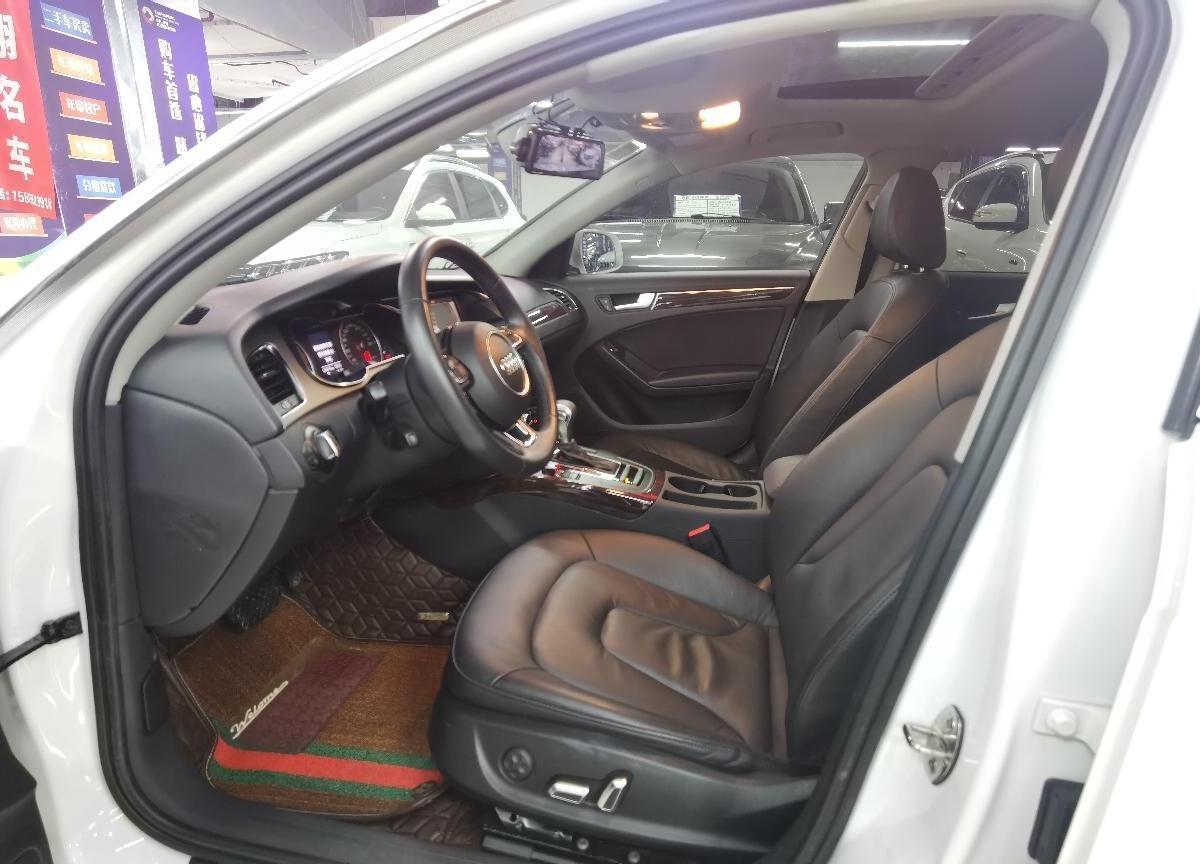 奥迪 奥迪A4L  2013款 35 TFSI 自动舒适型图片