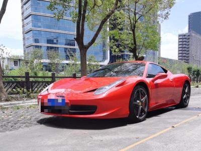 2013年1月 法拉利 458 4.5L Italia图片