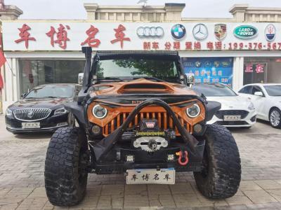 2013年2月 Jeep 牧马人(进口) 3.6L Sahara 四门版图片