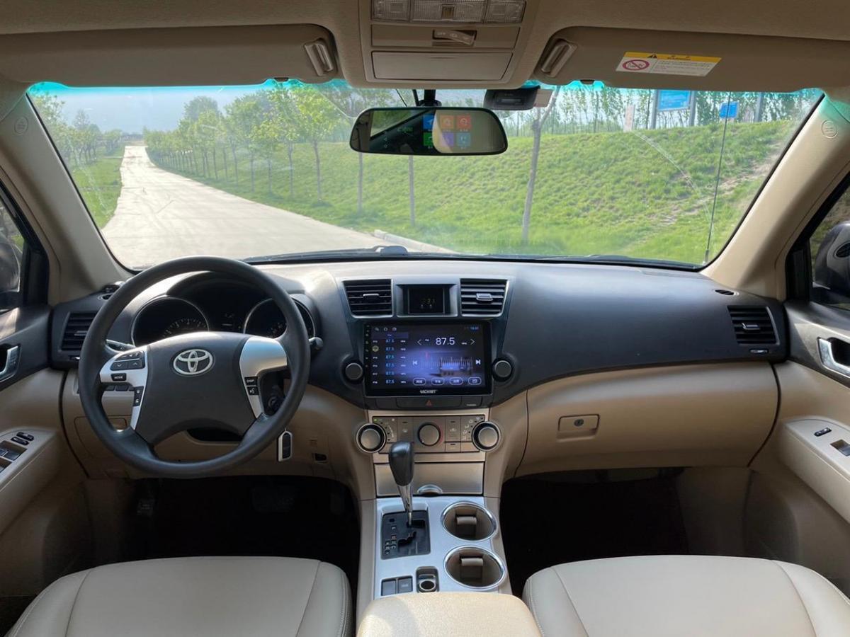 丰田 汉兰达  2012款 2.7L 两驱5座精英版图片