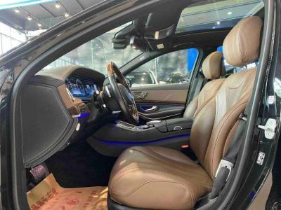 奔驰 奔驰S级  2017款 S 320 L 商务型