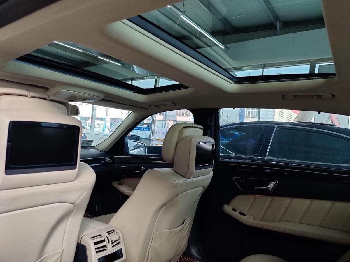 奔驰 奔驰E级  2010款 E 300 L 时尚型图片
