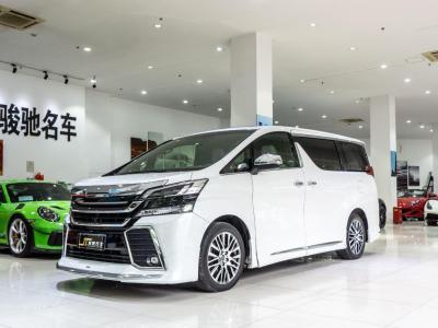 2018年8月 丰田 埃尔法(进口) 改款 3.5L 尊贵版图片