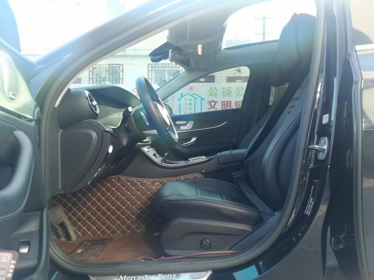 奔驰 奔驰E级  2021款 E 300 L 运动豪华型图片