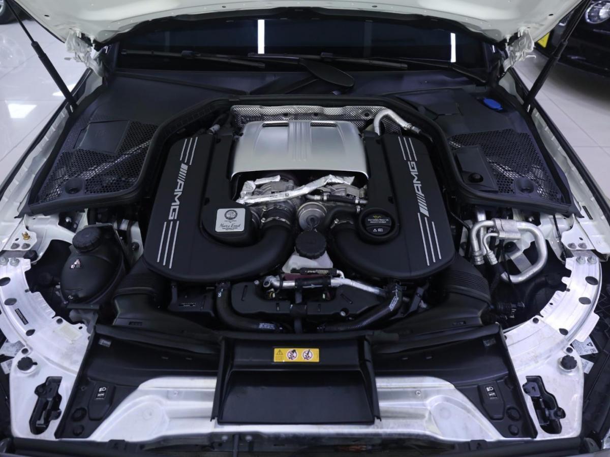 奔驰 奔驰C级AMG  2019款 AMG C 63 轿跑车图片