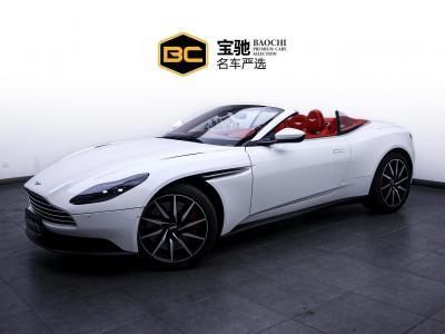 2019年1月 阿斯頓·馬丁 阿斯頓?馬丁DB11  4.0T V8 Volante圖片