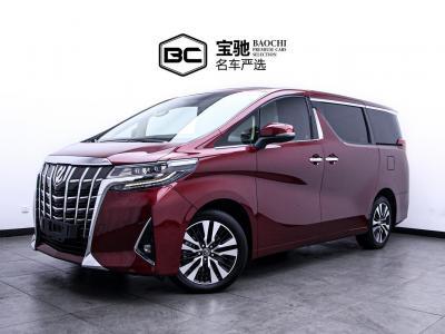 2019年1月 丰田 埃尔法  改款 3.5L 尊贵版图片