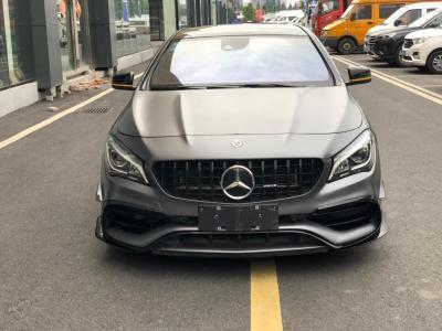 奔驰 奔驰CLA级AMG  2017款 AMG CLA 45 4MATIC图片