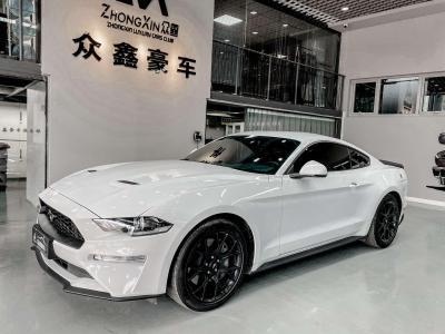 福特 Mustang  2020款 2.3L EcoBoost 黑曜魅影特別版