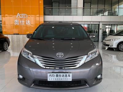 丰田 塞纳  2013款 3.5L 四驱自动型
