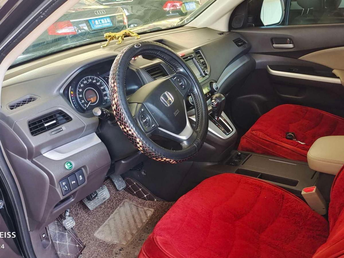 本田 CR-V  2012款 2.4L 四驱尊贵导航版图片