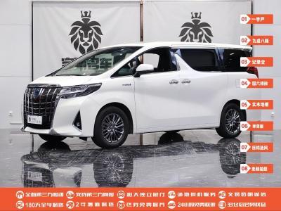 2019年9月 丰田 埃尔法(进口) 双擎 2.5L 尊贵版图片