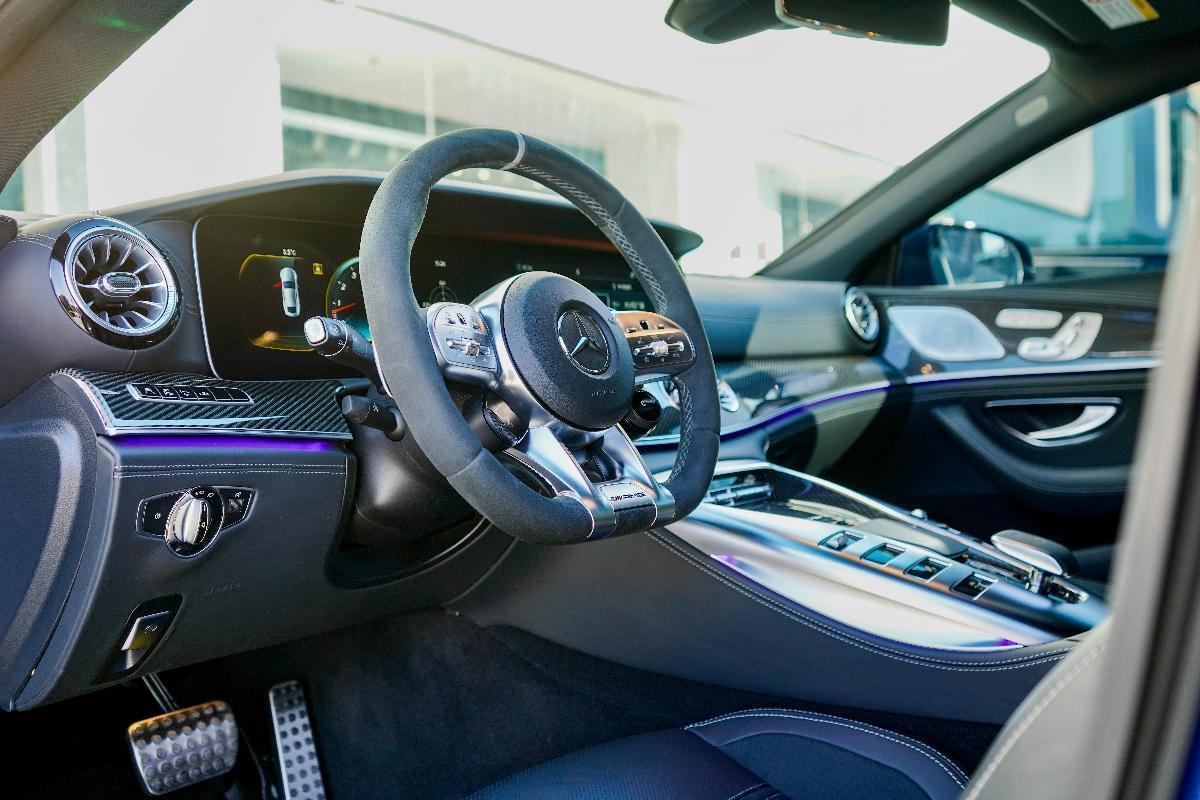 奔驰 奔驰AMG GT  2019款  AMG GT 63 S 4MATIC+ 四门跑车图片