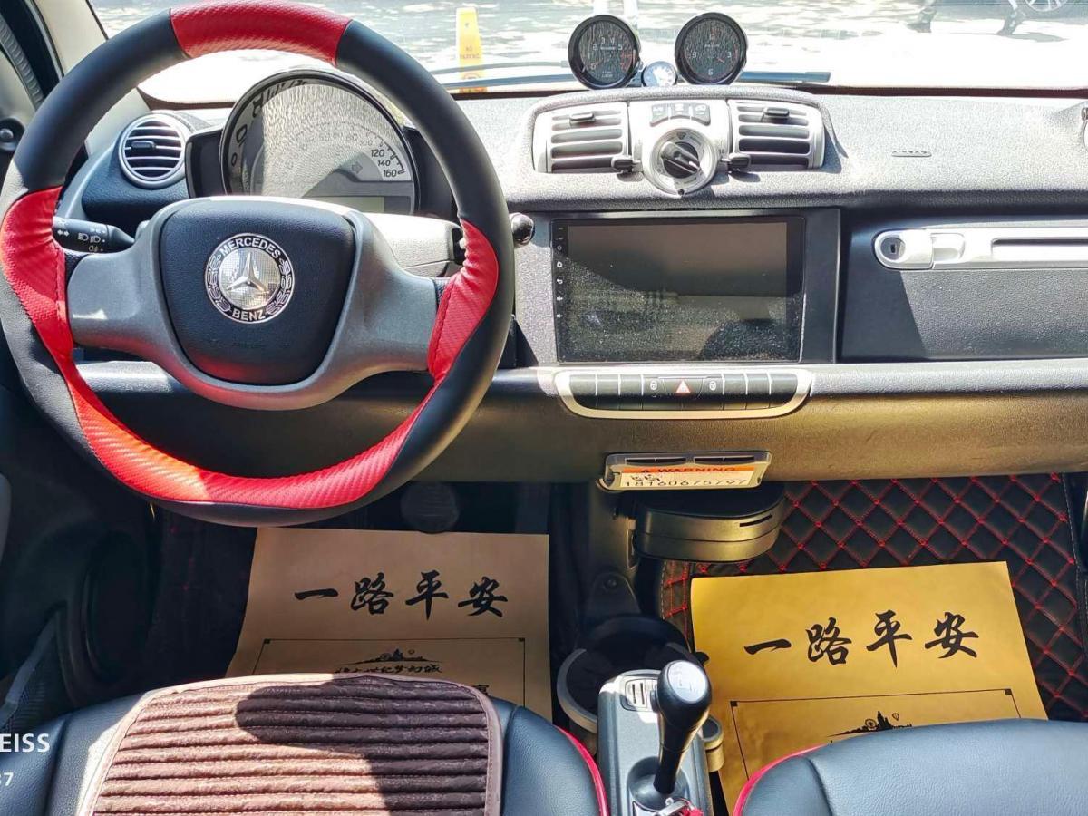 smart fortwo  2013款 1.0 MHD 硬顶城市游侠特别版图片