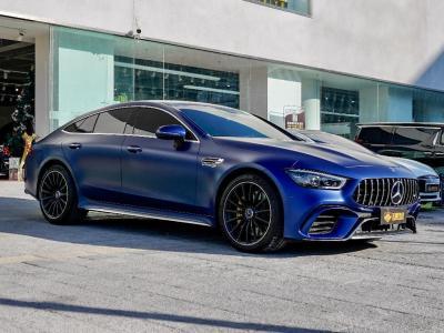 奔驰 奔驰AMG GT  2019款  AMG GT 63 S 4MATIC+ 四门跑车
