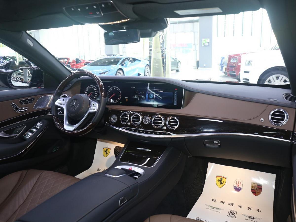 奔驰 迈巴赫S级  2018款 S 560 4MATIC图片