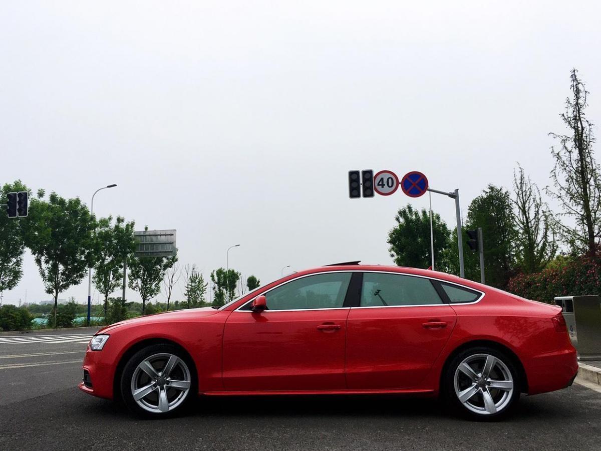 奥迪 奥迪A5  2013款 Sportback 50 TFSI quattro风尚版图片