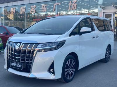2019年6月 丰田 埃尔法(进口) 3.5L 尊贵版图片
