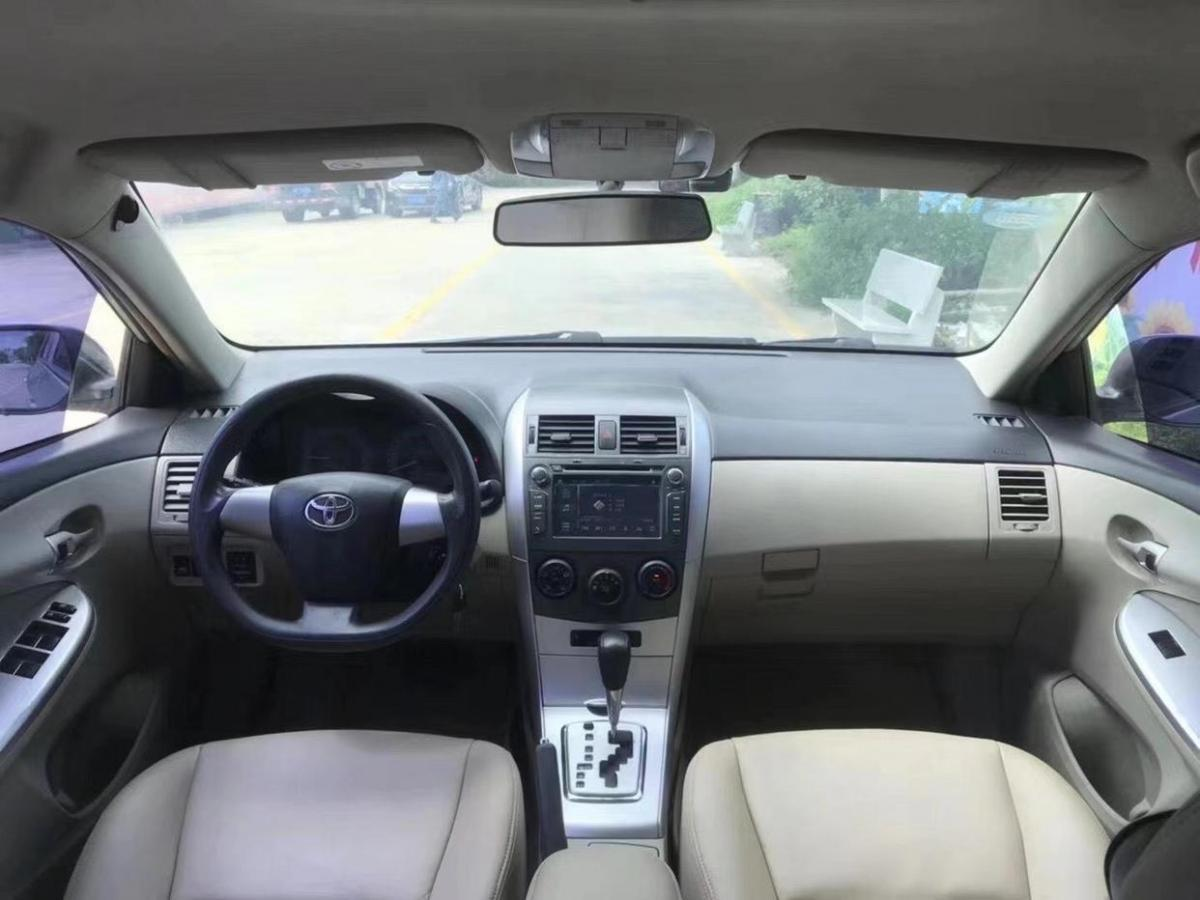 丰田 卡罗拉  2011款 1.6L 自动GL图片