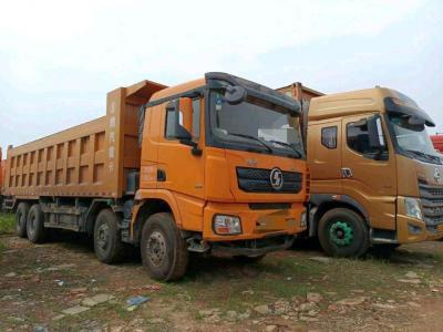 陝汽德龍X3000前四后八自卸,國五排放圖片