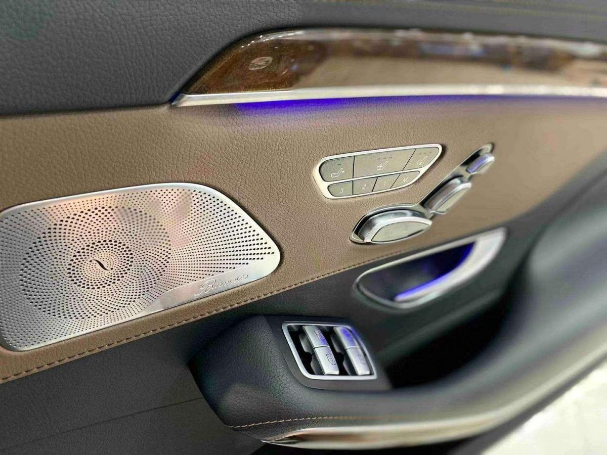 奔驰 奔驰S级  2017款 S 320 L 豪华型图片